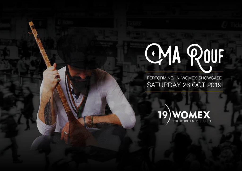 MA Rouf is performing in WOMEX shocase Saturday 26 Oct 2019.